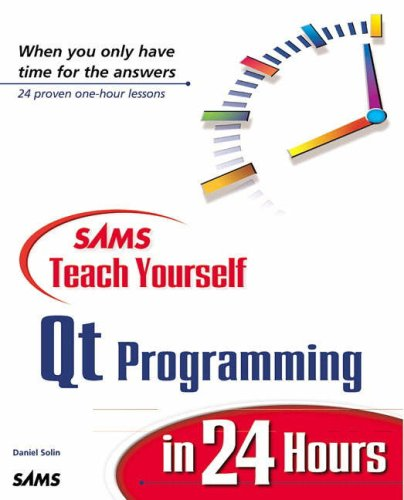 9780672318696: Sams Teach Yourself Qt Programming in 24 Hours