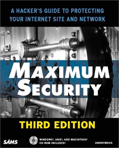 9780672318719: Maximum Security (3rd Edition)