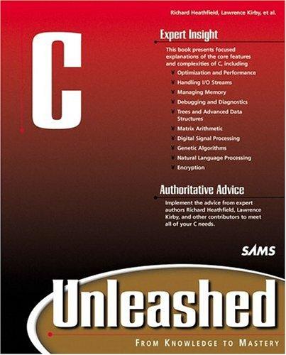 9780672318962: C Unleashed