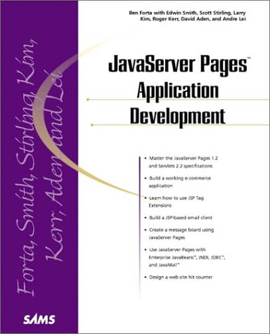 Java Server Pages Application Development: Scott M. Stirling,