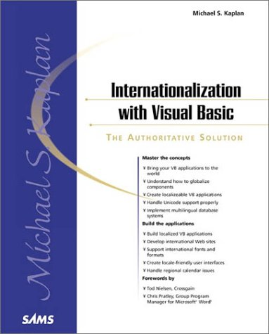 9780672319778: Internationalization With Visual Basic (Sams White Book Series)