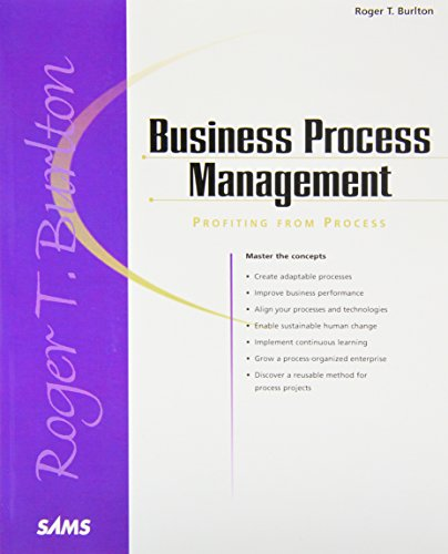 9780672320637: Business Process Management: Profiting From Process