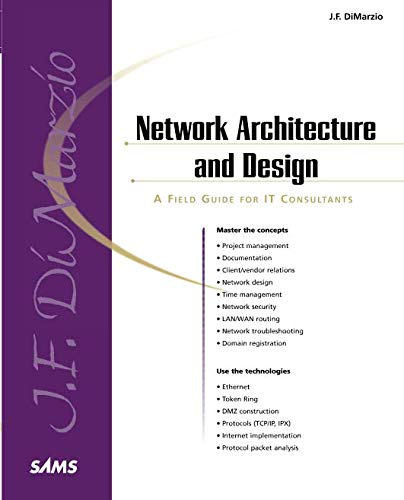"""9780672320828: Network Architecture & Design """"A Field Guide for IT Professionals"""""""