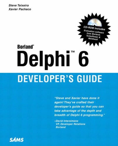 Delphi for. Net developer's guide by xavier pacheco · overdrive.