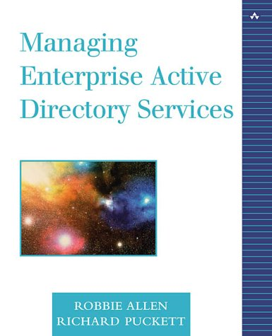9780672321252: Managing Enterprise Active Directory Services (White Book)