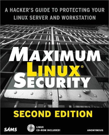 9780672321344: Maximum Linux Security
