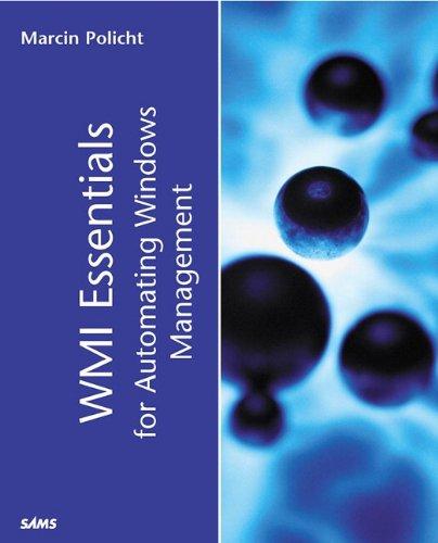 9780672321443: WMI Essentials for Automating Windows Management