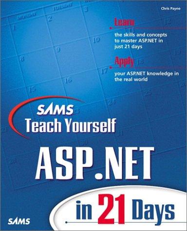 9780672321689: Sams Teach Yourself ASP.NET in 21 Days