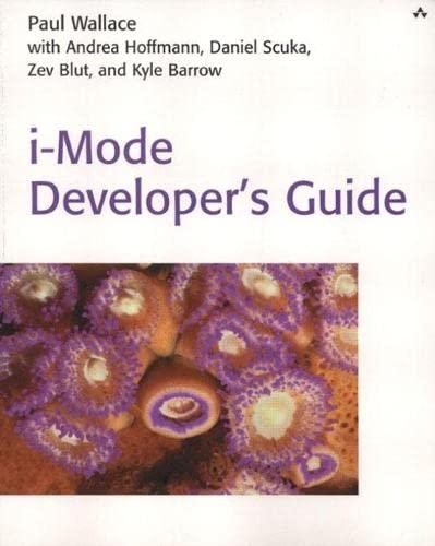 9780672321887: i-Mode Developer's Guide