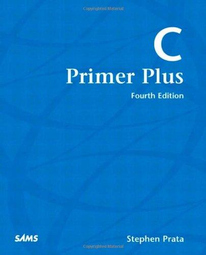 9780672322228: C Primer Plus (4th Edition)