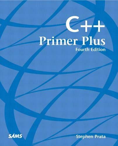 9780672322235: C++ Primer Plus (4th Edition)