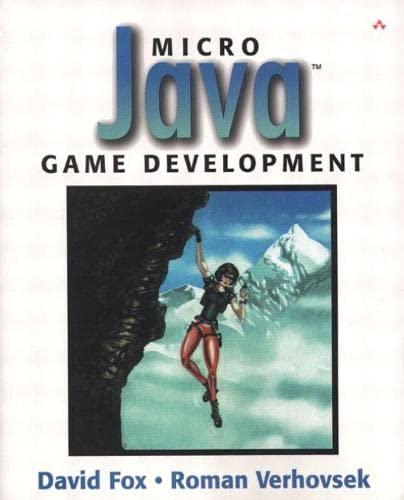 9780672323423: Micro Java¿ Game Development