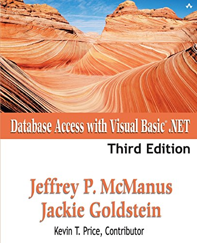 Database Access with Visual Basic .NET (3rd Edition): Jeffrey P. McManus, Jackie Goldstein