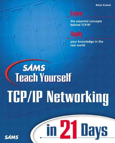 9780672323539: Sams Teach Yourself TCP/IP Networking in 21 Days