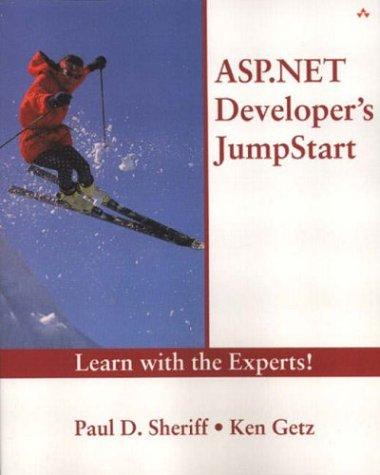 9780672323577: ASP.NET Developer's JumpStart