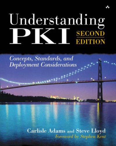 9780672323911: Understanding Pki: Concepts, Standards, and Deployment Considerations