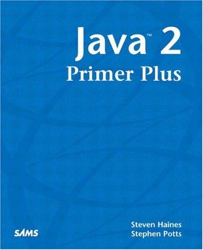 9780672324154: Java 2 - Primer Plus