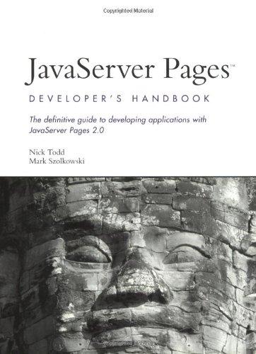 9780672324383: JavaServer Pages Developer's Handbook