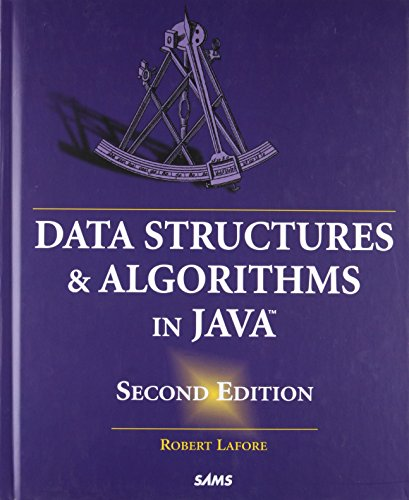 9780672324536: Data Structures and Algorithms in Java (2nd Edition)