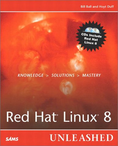 9780672324581: Red Hat Linux 8 Unleashed