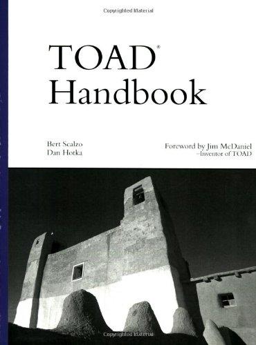9780672324864: TOAD Handbook