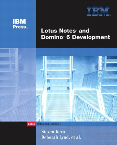 9780672325021: Lotus Notes and Domino 6 Development (Unleashed)