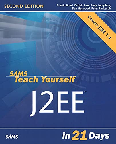 9780672325588: Sams Teach Yourself J2EE in 21 Days