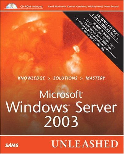 9780672326677: Microsoft Windows Server 2003 Unleashed (2nd Edition)
