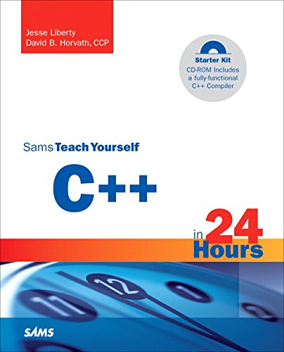 9780672326813: Sams Teach Yourself C++ in 24 Hours, Complete Starter Kit
