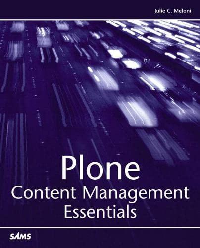9780672326875: Plone: Content Management Essentials
