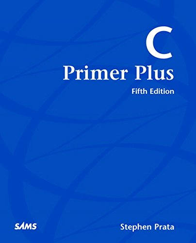 C Primer Plus: Stephen Prata