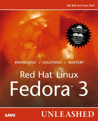 9780672327087: Red Hat Linux Fedora 3 Unleashed