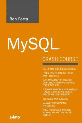 9780672327124: MySQL Crash Course