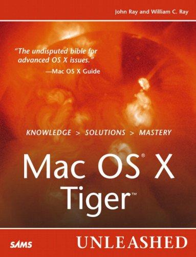 9780672327469: Mac OS X Tiger Unleashed