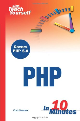9780672327629: Sams Teach Yourself PHP in 10 Minutes