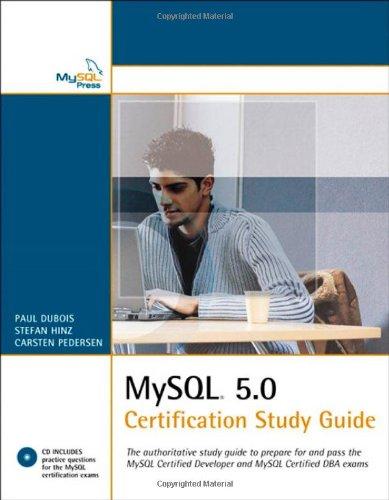 9780672328121: MySQL 5.0 Certification Study Guide (Mysql Press)