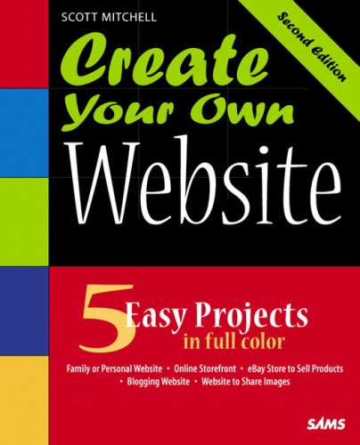 9780672328268: Create Your Own Website (2nd Edition)