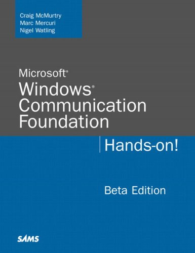 9780672328770: Microsoft Windows Communication Foundation: Hands-on! : Beta Edition