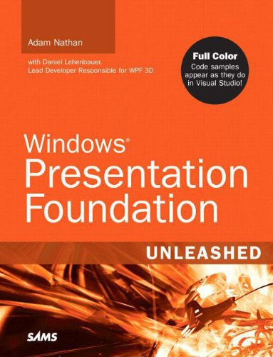 9780672328916: Windows Presentation Foundation Unleashed (WPF)