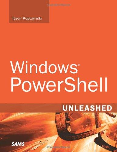 9780672329531: Windows PowerShell Unleashed