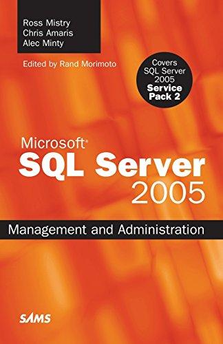 9780672329562: SQL Server 2005 Management and Administration