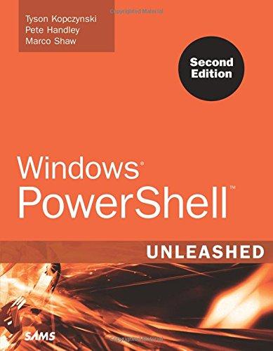 9780672329883: Windows PowerShell Unleashed (2nd Edition)