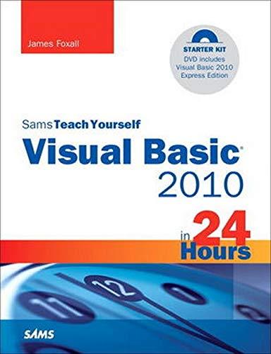 9780672331138: Sams Teach Yourself Visual Basic 2010 in 24 Hours