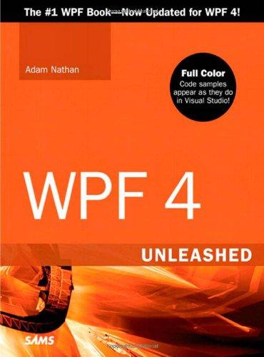 9780672331190: WPF 4 Unleashed
