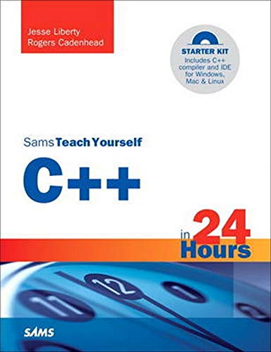 9780672333316: Sams Teach Yourself C++ in 24 Hours (5th Edition)