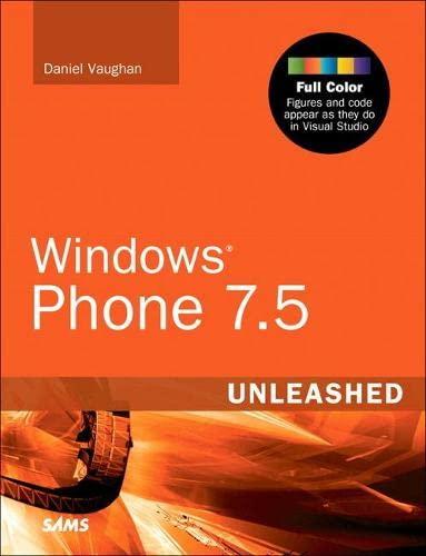 9780672333484: Windows Phone 7.5 Unleashed