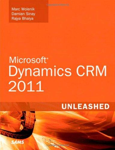 9780672335389: Microsoft Dynamics CRM 2011 Unleashed