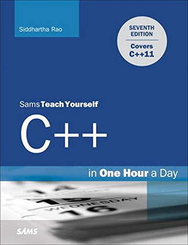 9780672335679: Sams Teach Yourself C++ in One Hour a Day (Sams Teach Yourself One Hr/Day)