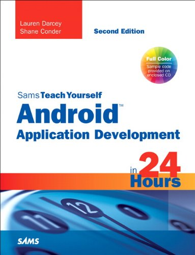 9780672335693: Sams Teach Yourself Android Application Development in 24 Hours (Sams Teach Yourself in 24 Hrs)