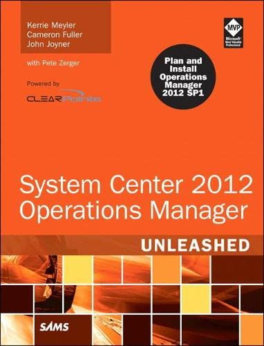 9780672335914: System Center 2012 Operations Manager Unleashed (2nd Edition)